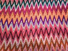 Missoni printed fabric
