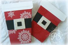 It's a Santa Coffee Cup card with instructions