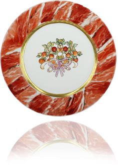 Porcelain Plates,Porcelain paintings made in Italy,luxury porcelain painting by Loredana Corbo,porcelain painting,luxury porcelain painting,Loredana Corbo,hand painted porcelain,painting porcelain,luxury porcelain