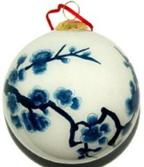 Chinoiserie Christmas Ornaments – Blue and White Chinoiserie Ornaments
