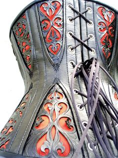 corset with gussets detail by crissycatt - detail inspiration #steampunk - ☮k☮