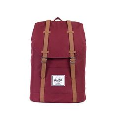 Featuring a classic cinch top, the Retreat backpack is a pared down version of Herschel Supply's popular Little America silhouette. Signature striped fabric lin