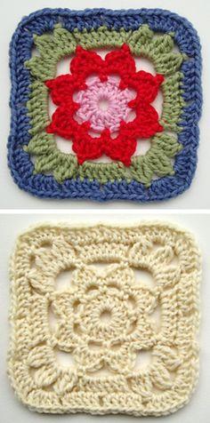 Crochet. Cuadrado