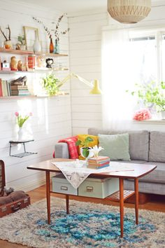 Retro pastel living room ♥ VINTAGE ♥ 50'S INTERIOR ♥ More pics at tantbella.se