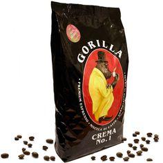 Gorilla Kaffee Crema No.1 - 1kg Bohnen