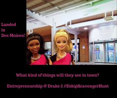 The Entrepreneurship Centers at Drake are hosting some special guests this week - join our #EshipScavengerHunt . Rules here: http://tinyurl.com/eshipscavengerhuntrules