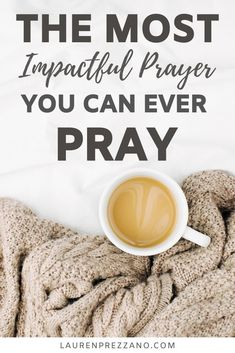 This one powerful prayer can change everything. Jesus Himself prayed this very prayer. Praying this brings a new level of peace to our lives. Prayers For Strength, Prayers For Healing, Bible Prayers, Christian Living, Christian Life, Christian Prayers, Christian Women, Divine Timing, Prayer And Fasting
