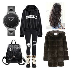"""""""Untitled #125"""" by ilseok on Polyvore featuring AMIRI, Gucci and Yves Salomon"""