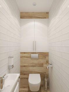 Toilet Room Decor, Small Toilet Room, Small Bathroom, Bathroom Design Luxury, Bathroom Layout, Modern Bathroom Design, Small Toilet Design, Ideas Baños, Bathroom Under Stairs