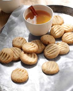 """Hazelnut Cookies.  I can buy ground hazelnuts, I assume this recipe wants me to """"roast"""" / toast them first.  Or I could just finely chop some hazelnuts.  I'm not going to bother grinding them in a food processor."""