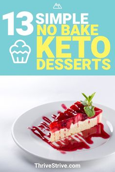 Need a dessert to help curb diabetes? These keto desserts are exactly what you need.