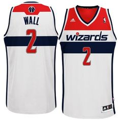John Wall Jersey  Adidas White Swingman  2 Washington Wizards Jersey (XXL)  by ffa7215bf