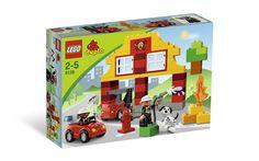 Lego Duplo My First Fire Station 6138 LEG6138 New 673419145541 | eBay