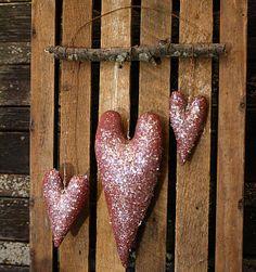 Valentine hearts..