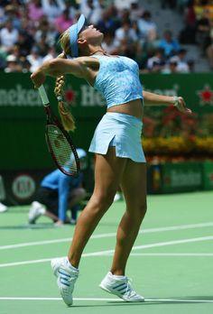 Anna Kournikova - always was my favourite female tennis player