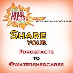 National Institute on Drug Abuse (NIDA): Drug Facts Week 2013  #Drugfacts #ShatterTheMyths    alcohol #drugabuse #marijuanaaddiction #nationaldrugfactsweek #nationalInstituteondrugabuse #NDFW #NIDA