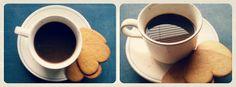 coffee, pepparkakor