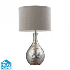 A touch of coastal glam and luxury!#HGTV #CyberMonday I love this lamp!