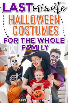 Not sure what to be for Halloween this year? Or did you decide that you actually WILL dress up a little late? Here are some fun costumes that you can snag for everyone in the family! #halloweencostumes #halloween #babycostumes #kidcostumes Halloween This Year, Halloween House, Halloween Kids, Happy Halloween, Family Costumes, Baby Costumes, Cool Costumes, Last Minute Halloween Costumes, Halloween Outfits