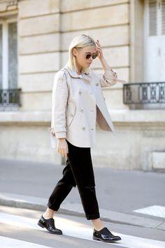 Wearing Ashley B New York leather jacket