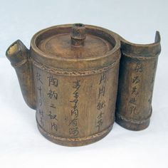 Handmade Chinese Yi Xing Bamboo Teapot