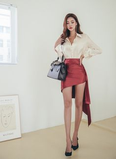 Korean Model 020 #koreanmodel #koreanbeauty #koreanfashion #model #beauty #fashion Fashion Beauty, Girl Fashion, Fashion Dresses, Womens Fashion, Beautiful Legs, Beautiful Asian Girls, Pretty Asian, Beautiful Women, Casual Summer Outfits