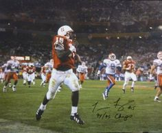 """Tommie Frazier Autographed Nebraska Cornhuskers """"The Run"""" 16x20 Photo by DenverAutographs. $49.99. This is a 16""""x20"""" color photo which has been personally autographed by 1994 & 1995 National Champion: Touchdown Tommie Frazier. Arguably the most exciting player ever at the University of Nebraska he lead the team to two national championships including a 62-24 rout over unbeaten #2 Florida Gators in the Fiesta Bowl. He personally autographed this item on October 21, 2012 at ..."""