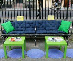 IKEA Park Bench- cool guerrilla ads