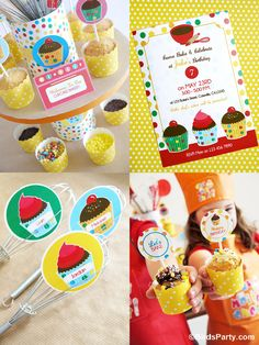 Party Printables   Party Ideas   Party Planning   Party Crafts   Party Recipes   BLOG Bird's Party: How to Style a Kid-Friendly Baking Party...