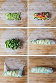 Light and refreshing Summer Rolls - served with Chile-Lime Dipping Sauce, they're perfect for an appetizer or a light lunch! Light and refreshing Summer Rolls - served with Chile-Lime Dipping Sauce, they're perfect for an appetizer or a light lunch! Lunch Recipes, Whole Food Recipes, Vegetarian Recipes, Cooking Recipes, Healthy Recipes, Keto Recipes, Cucumber Recipes, Grilling Recipes, Cooking Tips