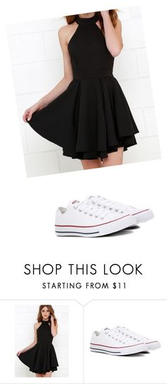 """Geen titel #33"" by thaoly-hieu on Polyvore featuring mode en Converse"