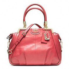 LOVE this bag! COACH MADISON PINNACLE LEATHER LILLY