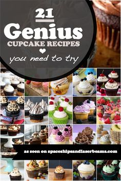 21 Genius Cupcake Recipes That You Need To Try - Spaceships and Laser Beams