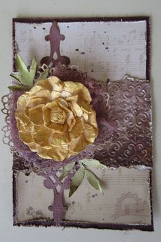 kerrie gurney [it's all about ME]: Hearts Ease Card | Couture Creations