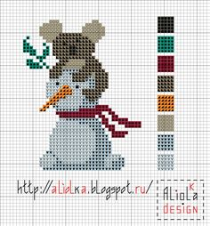 Мои творилки *** Aliolka design: Снеговик и ... коала
