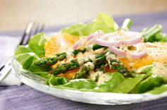 Asparagus, Boston Lettuce and Orange Salad Recipe - Kraft Recipes