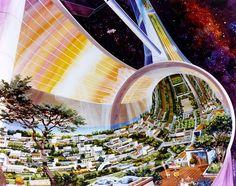 retro science fiction,разное,Rick Guidice,астроинженерия
