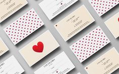 50 Business Cards on Behance