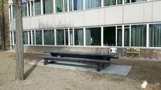 Picknickset Standaard Antraciet-Beton XL bij Spring Exploitatie Services BV in Barendrecht Xl, Outdoor Furniture, Outdoor Decor, Entryway Bench, Home Decor, Entry Bench, Foyer Bench, Interior Design, Home Interior Design