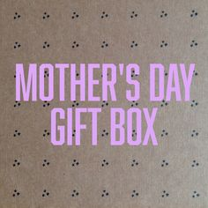 We've created a special 4-piece gift box of Southern goods just for moms. Sorry we can't share with you exactly what will be inside, but we promise this package will surprise and delight that special mom in your life. Minimum retail value of $75. Will ship via USPS Priority Mail on Monday, May 4th to ensure delivery before Mother's Day, and we'll include a special gift letter that lets her know just how much you appreciate her.