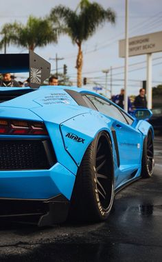 Lamborghini Aventador Liberty Walk By LB Performance
