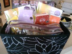 Have a Scentsy basket party. Read about it on my blog   lovethisscent.wordpress.com