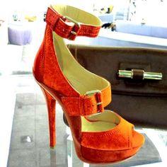 Jimmy Choo heel -- I wouldn't dare...
