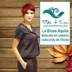 La Blusa Aquila Búscala en nuestra colección de Otoño http://www.mardeformas.com/es/210-blusa-aquila.html