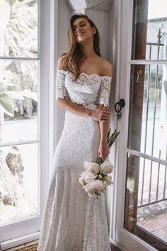 8f00e29a740ad6 BRIDE    Les Deux by Grace Love Lace. Wedding Dresses ...