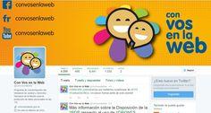 #eduPLEmooc Unidad 1. Tarea 2. Análisis de la cuenta de Twitter de @ConVosenlaWeb