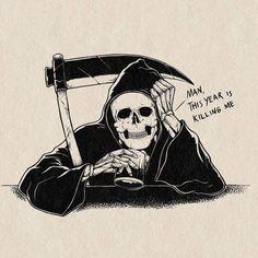 Don't Fear The Reaper, Death Tattoo, Cloud Atlas, Creative Outlet, Bob Dylan, Worlds Of Fun, Dark Art, Mind Blown, Weird