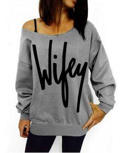 Women's Wifey Sweater                                                                                                                                                                                 More