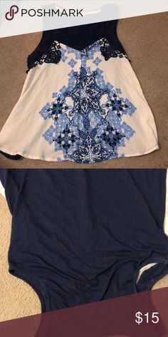Worn once , great condition make me an offer Taylor & Sage Tops Blouses Cute Tops, Sage, Blue And White, Product Description, Blouses, Best Deals, How To Make, Things To Sell, Fashion