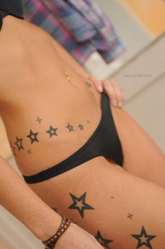 MyTattooLand: Star tattoos designs